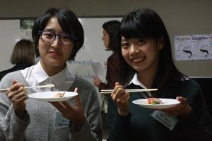 Mihoko und Lisa
