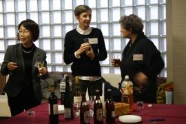 R. Dieth mit Saskia Ishikawa-Franke